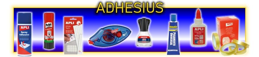 Adhesius per l'oficina, escola o prefessioonal. Coles, barres, cintes, iniversal, tacks, permanents, en esprai . . .