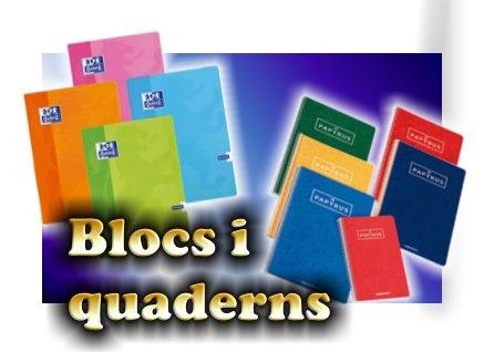 9-foto blocs i quaderns