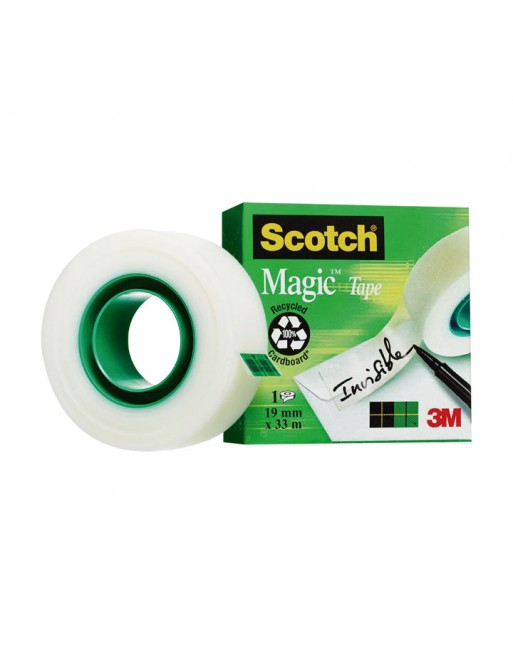 SCOTCH CINTA ADHESIVA MAGIC 19MMX3 - 810/1933