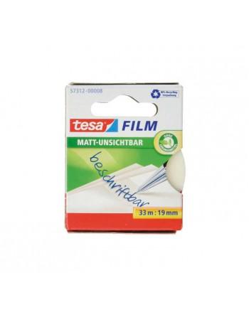 TESA PACK 3 ROLLOS CINTA + PORTARROLLO EASY CUT COMPACT - 53832-00000-01