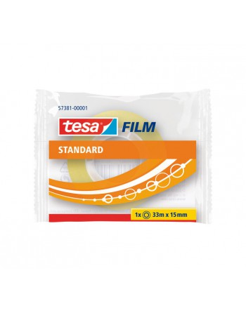 TESA CINTA ESTANDARD 33MX15MM TRANSPARENTE - 57381-00001-01