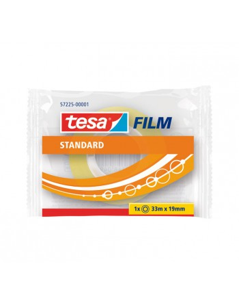 TESA CINTA ESTANDARD 33MX19MM TRANSPARENTE - 57225-00001-01