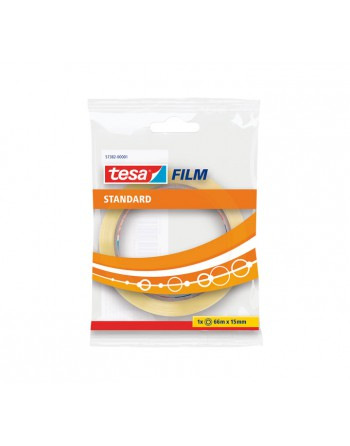 TESA CINTA ESTANDARD 66MX15MM TRANSPARENTE - 57382-00001-01