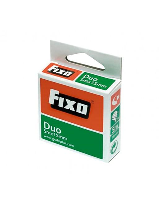 FIXO CINTA ADHESIVA DUO DOBLE CARA 5MX15MM 7560030 - 75600300