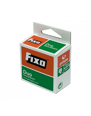 FIXO CINTA ADHESIVA DUO DOBLE CARA 5MX30MM 7560060 - 75600600