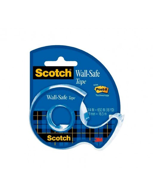 SCOTCH CINTA ADHESIVA PARED 19MMX16.5M - 183-ISP