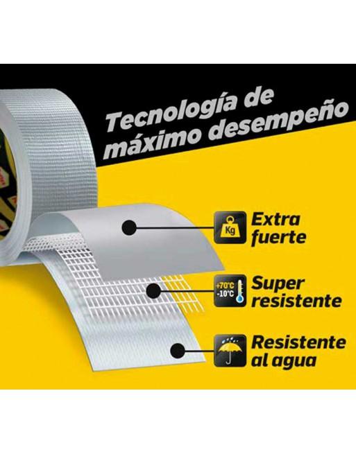 PATTEX CINTA ADHESIVA POWER TAPE 50X5M GRIS - 1659547