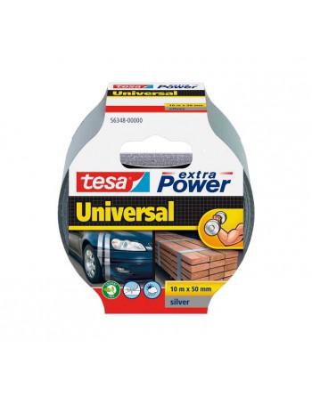 TESA CINTA AMERICANA EXTRA POWER UNIV. 10M PLATA - 56348-00000-06
