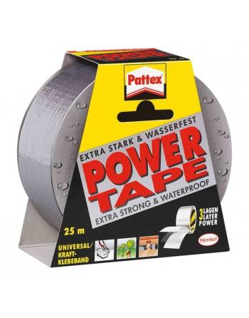 PATTEX CINTA ADHESIVA POWER TAPE 50X25M GRIS - 1669710