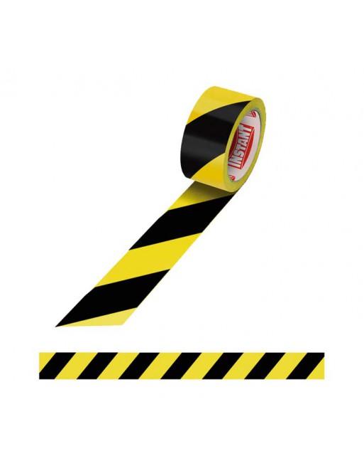 INSTANT CINTA ADHESIVA WARNING 48MM. X 50M. 63111