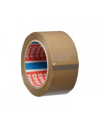 TESA CINTA EMBALAJE PVC MARRON 50X66 - 04100-00228-00