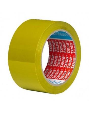 TESA CINTA EMBALAJE PVC 4204 66MX50MM AMARILLO 04204-00092- - 04204-00092-00
