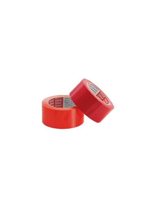 TESA CINTA EMBALAJE PVC 4204 66MX50MM ROJO - 04204-00053-00