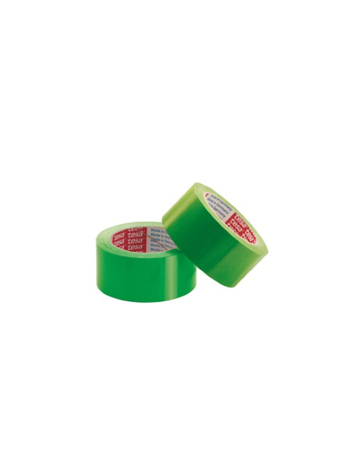 TESA CINTA EMBALAJE PVC 4204 66MX50MM VERDE - 04204-00132-00
