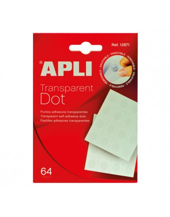 APLI SOBRE 64 DOT TRANSPARENT - 12871