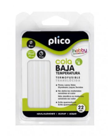 PLICO BLISTER 22U BARRAS SILICONA BAJA TEMPERATURA - 1651