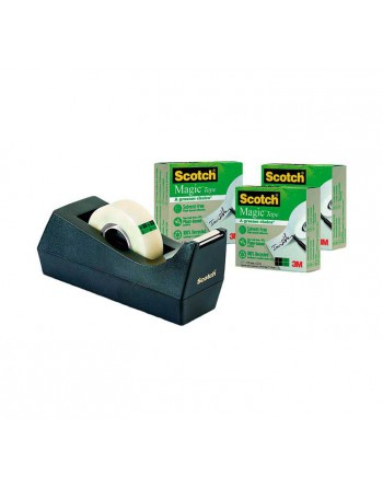 SCOTCH PORTARROLLOS C38 NGR + 3 CINTAS MAGIC - 7100044085