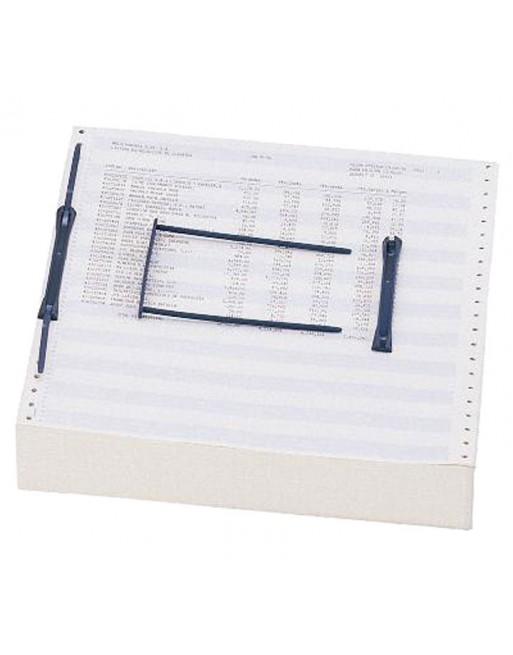 ELBA PACK 100 DATA-CLIP AZUL ENCUADERNADOR TIPO FASTENER GRAN VOLUMEN - 100580278