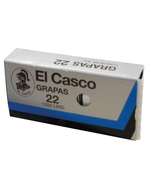 EL-CASCO 1000 GRAPAS CAGALVANIZAD N.22 22/6G - 22/6G / 1G00221