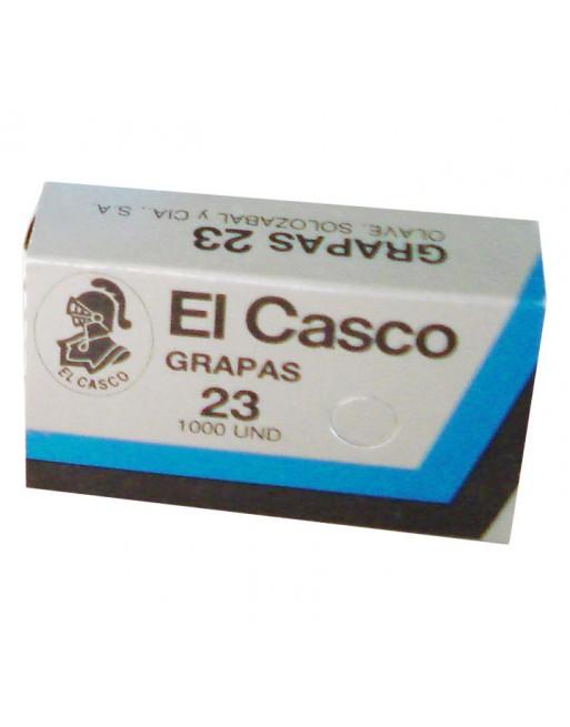 EL-CASCO 1000 GRAPAS CAGALVANIZAS N.23 23/6 - 23/6 / 1G00231