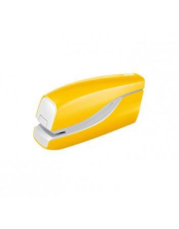 PETRUS GRAPADORA ELECTR. WOW E-310 HASTA 10 HOJAS CON GRAPA Nº10 AMARILLO - 626836
