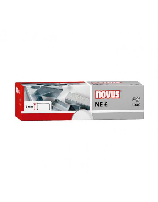 NOVUS 5000 GRAPAS NEGRA 6 - 042-0000