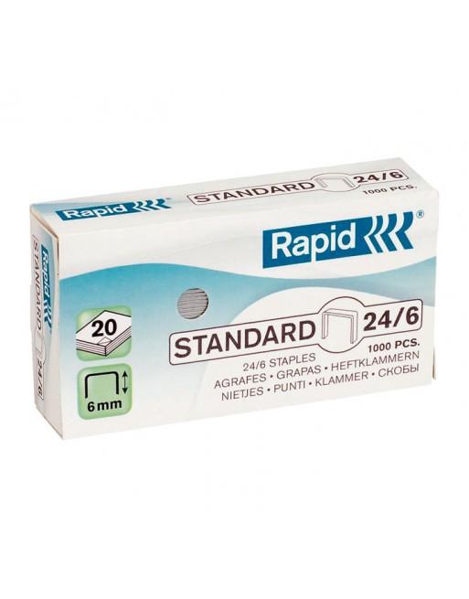 RAPID 1000 GRAPAS 22/6-24/6 GALVANIZADA - 24855600