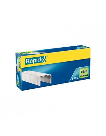 RAPID 5000 GRAPAS 26/6 GALVANIZADA - 24861800