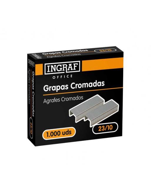 INGRAF 1000 GRAPAS INGRAF 23/10 GALVANIZA - 320206