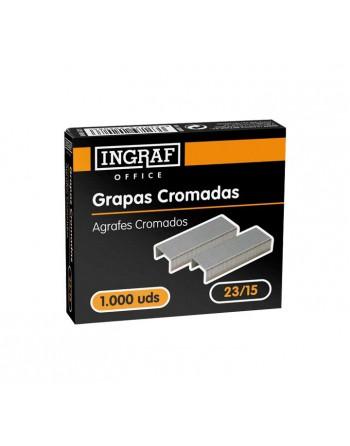 INGRAF 1000 GRAPAS INGRA FUN23/15 GALVANIZA - 320208