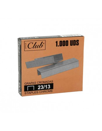 OFFICE CLUB 1000 GRAPAS 23/13 GALVANIZA - 320207
