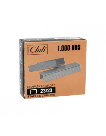 OFFICE CLUB 1000 GRAPAS 23/23 GALVANIZA - 320211