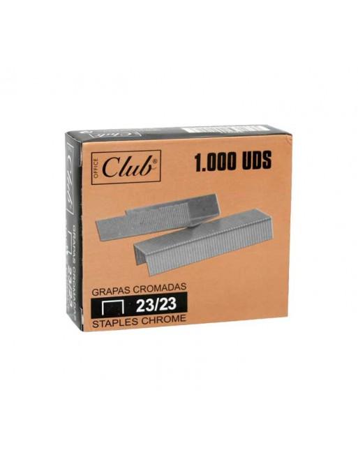 OFFICE CLUB 1000 GRAPAS 23/23 GALVANIZA - 320211