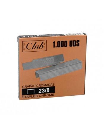 OFFICE CLUB 1000 GRAPAS 23/8 GALVANIZA - 320205