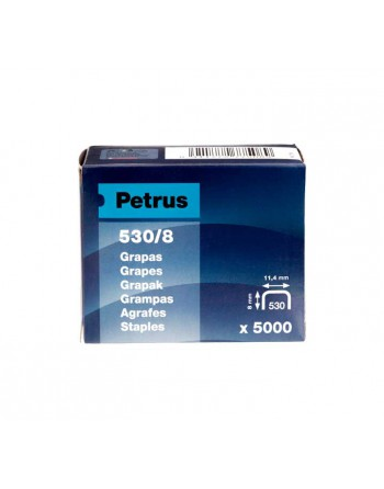 PETRUS 5000U. GRAPAS 530/8 COBREADA - 77508