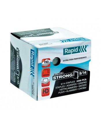 RAPID 5000 GRAPAS 9/14 GALVANIZADA - 24871500