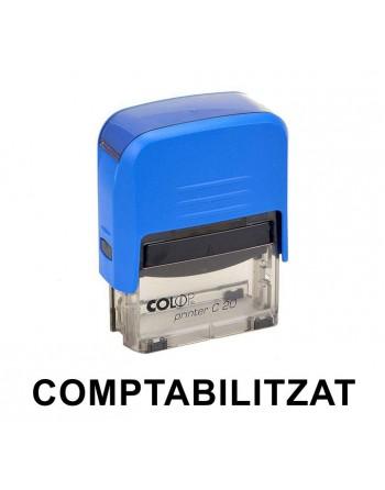 COLOP PRINTER 20 - COMPTABILITZAT - CATALÀ 14x38MM - PRINTER 20 L COMPTABILITZAT