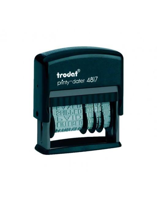 TRODAT FORMULARIO COMERCIAL CON FECHADOR PRINTY - 4817