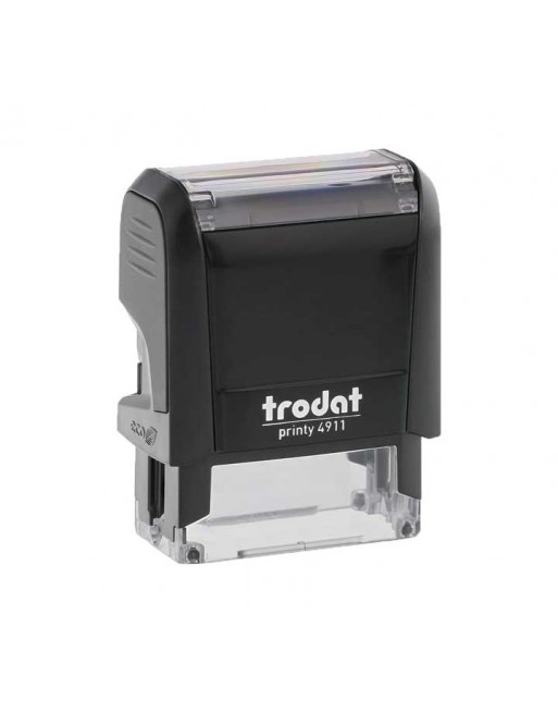 TRODAT SELLO AUTOMÁTICO CON PLACA PRINTY 38X14MM - 4911