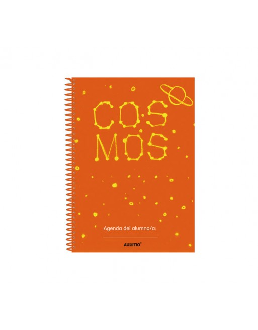 ADDITIO AGENDA ESCOLAR A5 COSMOS 80 PAGINAS CASTELLANO - A112-E