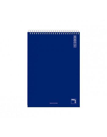 PACSA BLOC ESPIRAL CUADERNO 8º 80 4X4 SURTIDOS - 16434