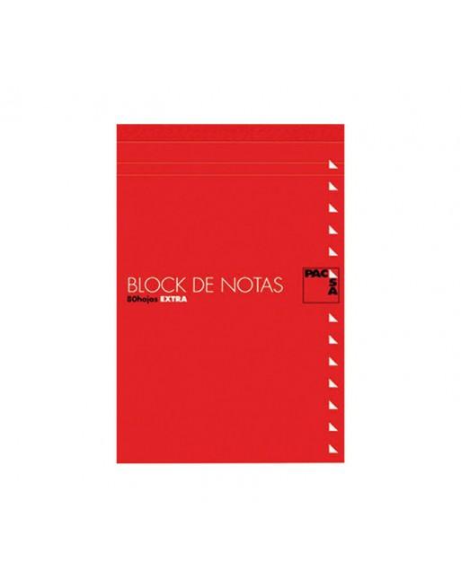PACSA BLOC NOTAS CON TAPA 8º LISO 60G 80H - 18905