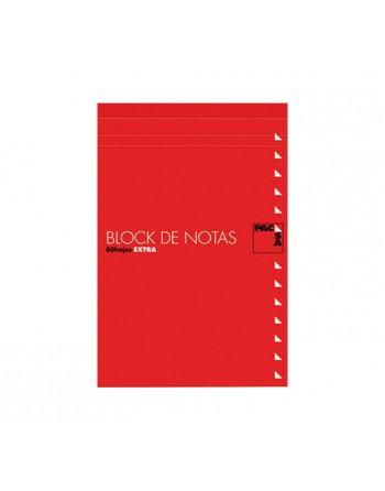 PACSA BLOC NOTAS CON TAPA FOLIO 4X4 60G 80H - 18900