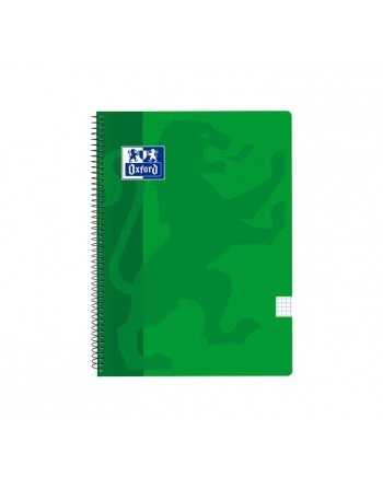 OXFORD CUADERNO SCHOOL FOLIO 80H 5X5 VERDE - 400121815