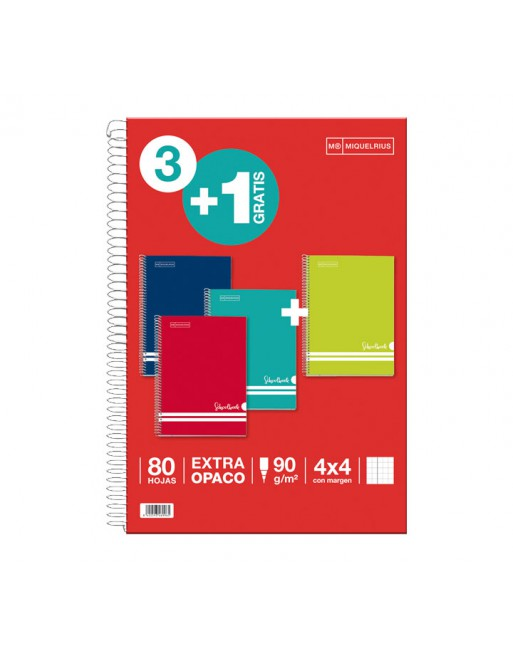 OXFORD CUADERNO SCHOOL FOLIO 80H PAUTA 3.5 AZUL MAR - 400112927