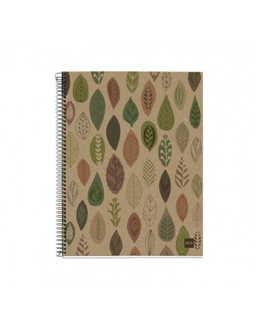 M.RIUS NOTEBOOK 4 ECOHOJAS A5 5X5 120H - 2872