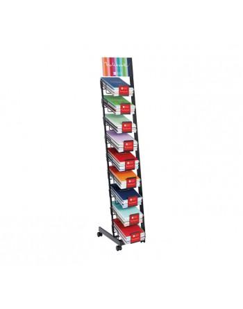 M.RIUS CUADERNO NOTEBOOK 6 A5 150H 70GR 5X5 BASIC PLATA - 47149