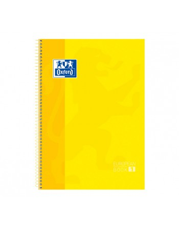 OXFORD CUADERNO EBOOK1 A4 80H 5X5 T/EXTRAD. AMARILLO - 100430200