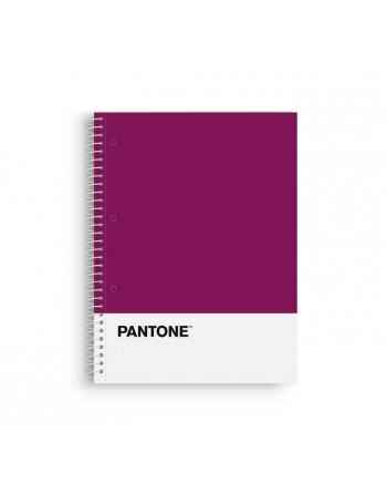 OXFORD CUADERNO EUROBOOK1 A4 80H 5X5 90GR TAPA EXTRADURA MORADO - 400072665