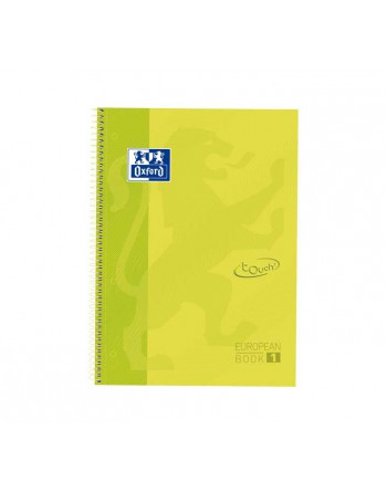 OXFORD CUADERNO EUROBOOK 1 A4+ 80H 5X5 90GR TAPA EXTRADURA LIMA TOUCH - 400075551